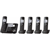 Panasonic Consumer Expandable Digital Cordls Ans Sys, 5 HS