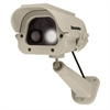 SECURITYMAN Spotlight Dummy Camera with Solar Panel