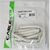Cablesys WH / 25' WHITE Handset Cord
