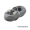 Steren 4C 25' Black Modular Line Cord