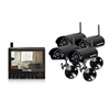 SECURITYMAN Four Wireless Camera Kit with LCD/DVR/SD