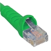 PATCH CORD CAT6 MOLDED BOOT 10' GREEN