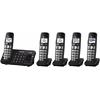 Panasonic Consumer DECT 6.0, 5 Handsets, Advanced TAD, DK