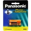 Panasonic Consumer HR-65AAABU AAA 2 Pack, 700mAh NiMH