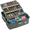 Plano Lg. 3 Tray Top Access- Graphite-Sand
