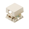 Steren 4C Ivory Dual Surface Jack UL