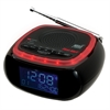 AM/FM Weather Band Clock Radio with S.A.