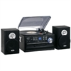 Jensen 3-Speed Turntable with CD, Radio, Remote