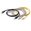 3' BlackMolded Cat5E UTP Patch