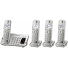 Panasonic Consumer DECT 6.0, 4 Handsets, Advanced TAD