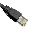 ICC PATCH CORD, CAT 6, MOLDED BOOT, 7' BK