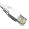 PATCH CORD, CAT 6, MOLDED BOOT, 10' WH