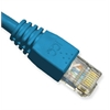 ICC PATCH CORD, CAT 6, MOLDED BOOT, 14' BL