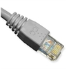 PATCH CORD, CAT 6, MOLDED BOOT, 14' GY
