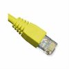 Patch Cord, CAT6 Booted, 25' - Yellow