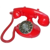 Alexis 1922 Decorator Phone Red
