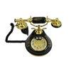 8809-HT Porcelain Phone BLACK