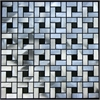 Legion furniture Aluminum Tile, Silver & Black