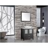 "MTD Vanities Jordan 30"" Single Sink Bathroom Vanity Set, Espresso"