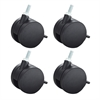 Carpet Casters for AlphaBetter® (Set of 4) Black