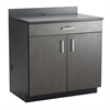 Hospitality Base Cabinet, One Drawer/Two Door Black/Asian Night