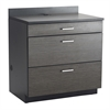 Hospitality Base Cabinet, Three Drawer Black/Asian Night