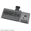 "Ergo-Comfort® Articulating 28"" Keyboard/Mouse Arm Black Granite Fleck"