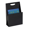 Portable Steel File Tote & Desktop Organizer Black
