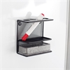 Onyx™ Mesh Marker Holder with Shelf Black