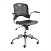 Sassy® Manager Swivel Chair Black