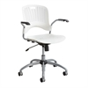 Sassy® Manager Swivel Chair White