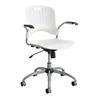 Sassy® Manager Swivel Chair White