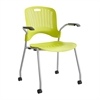 Sassy® Stack Chair (Qty. 2) Green
