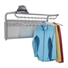 Impromptu® Coat Wall Rack with Hangers Gray
