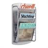 Impromptu® Magazine Rack 3 Pocket Gray