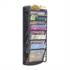 Impromptu® Magazine Rack 5 Pocket Black