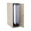 "Large Vertical Storage Cabinet for 18"", 24"", 30"" and 36"" Hanging Clamps Tropic Sand"