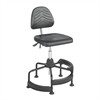 Task Master® Deluxe Industrial Chair Black