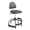 Task Master® Deluxe Industrial Chair Black