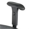 Task Master® Adjustable T-Pad Armrest (Set) Black