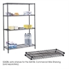 "Commercial Extra Shelf Pack, 48 x 18"" Black"