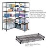 "Industrial Extra Shelf Pack, 24 x 36"" Black"
