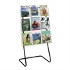 Magazine Display Floor Stand Black