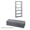 36 x 12 Industrial 6 Shelf Pack Gray