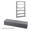 48 x 12 Industrial 6 Shelf Pack Gray