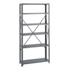 36 x 12 Commercial 6 Shelf Kit Gray