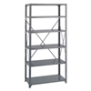 36 x 18 Commercial 6 Shelf Kit Gray
