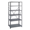 36 x 24 Commercial 6 Shelf Kit Gray