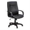 Poise® Executive High Back Seating Black Vinyl