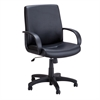 Poise® Executive Mid Back Seating Black Vinyl